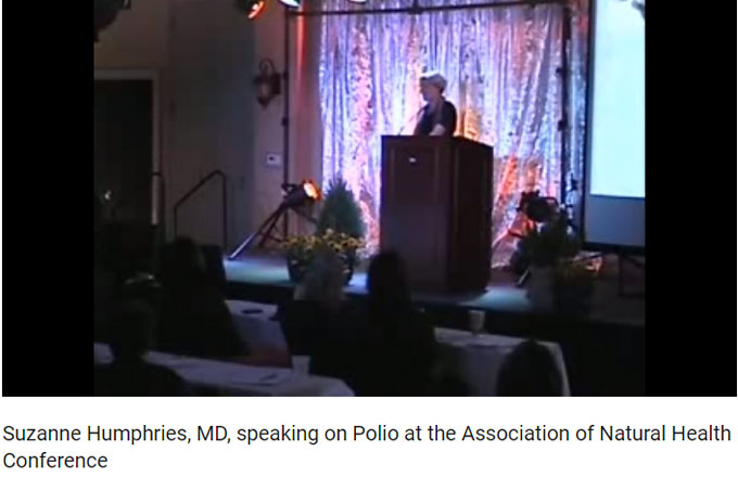 DR SUZANNE HUMPHRIES; ON SMOKE, MIRRORS AND DISAPPEARANCE OF POLIO
